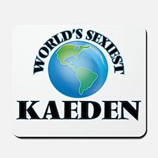 World's Sexiest Kaeden Mousepad