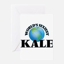 World's Sexiest Kale Greeting Cards
