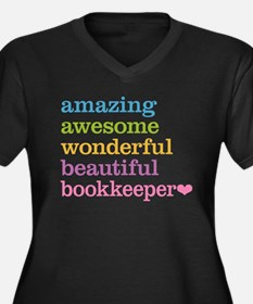Bookkeeper Plus Size T-Shirt
