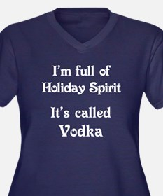 Funny Holiday Spirit Plus Size T-Shirt