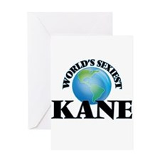 World's Sexiest Kane Greeting Cards