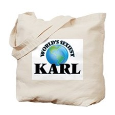 World's Sexiest Karl Tote Bag