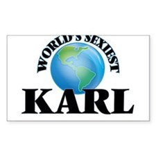 World's Sexiest Karl Bumper Stickers