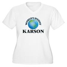 World's Sexiest Karson Plus Size T-Shirt