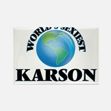 World's Sexiest Karson Magnets