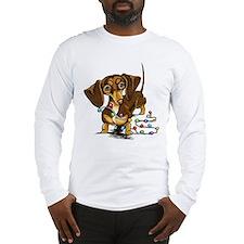 Chocolate Holiday Cheer Long Sleeve T-Shirt