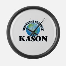 World's Sexiest Kason Large Wall Clock