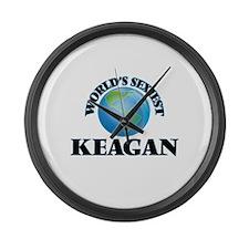 World's Sexiest Keagan Large Wall Clock