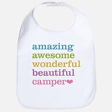 Amazing Camper Bib