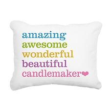 Candlemaker Rectangular Canvas Pillow