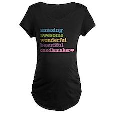 Candlemaker Maternity T-Shirt