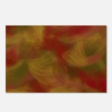 Soft Earthtone Brush Strokes Postcards (Package of