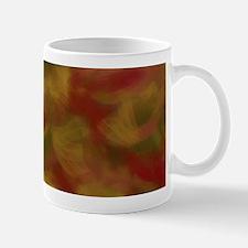 Soft Earthtone Brush Strokes Mugs