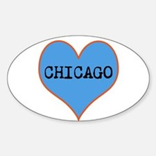 I Love Chicago Decal