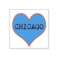 I Love Chicago Sticker