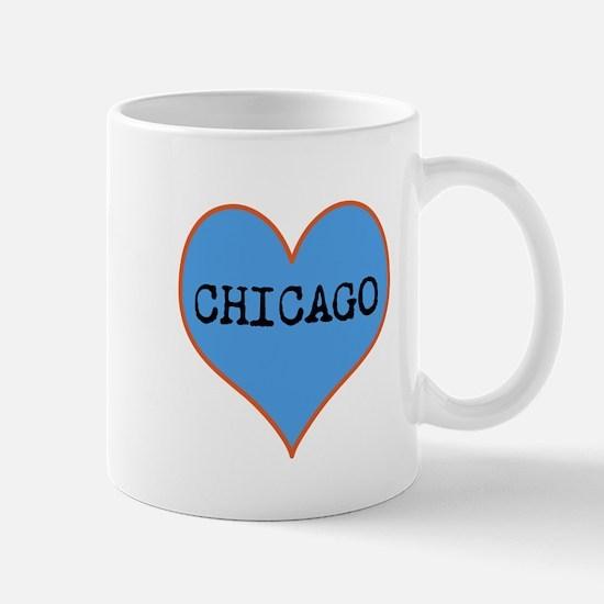 I Love Chicago Mugs