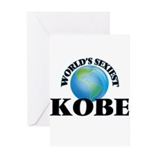World's Sexiest Kobe Greeting Cards
