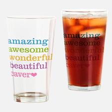 Amazing Caver Drinking Glass