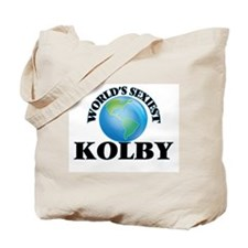 World's Sexiest Kolby Tote Bag