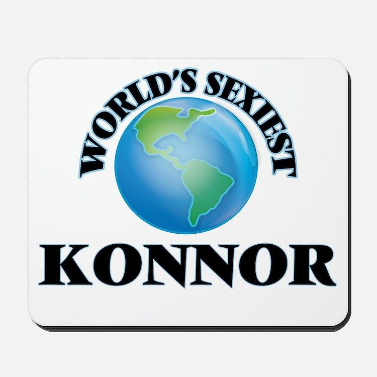 World's Sexiest Konnor Mousepad
