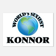 World's Sexiest Konnor Postcards (Package of 8)