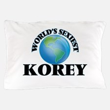 World's Sexiest Korey Pillow Case