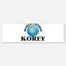 World's Sexiest Korey Bumper Bumper Bumper Sticker