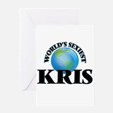 World's Sexiest Kris Greeting Cards