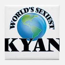 World's Sexiest Kyan Tile Coaster