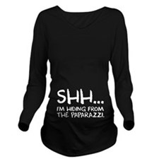 Shh... Long Sleeve Maternity T-Shirt