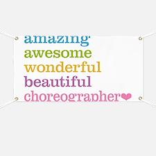Choreographer Banner