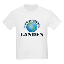 World's Sexiest Landen T-Shirt