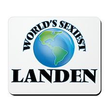 World's Sexiest Landen Mousepad
