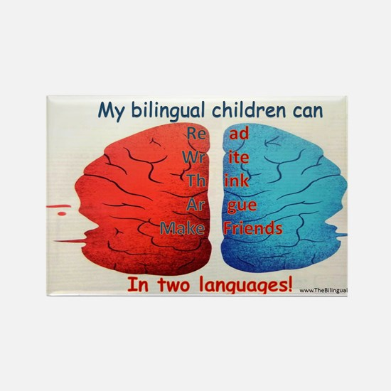 My Bilingual Children can... Magnets