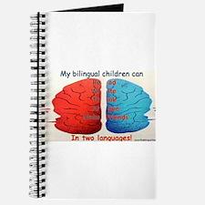 My Bilingual Children can... Journal