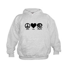 Peace Love And Snakes Hoodie
