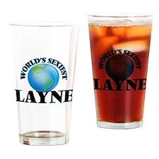 World's Sexiest Layne Drinking Glass