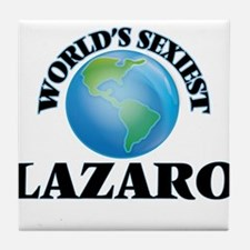 World's Sexiest Lazaro Tile Coaster