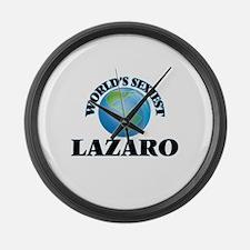 World's Sexiest Lazaro Large Wall Clock