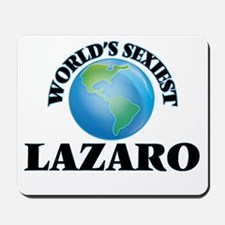 World's Sexiest Lazaro Mousepad