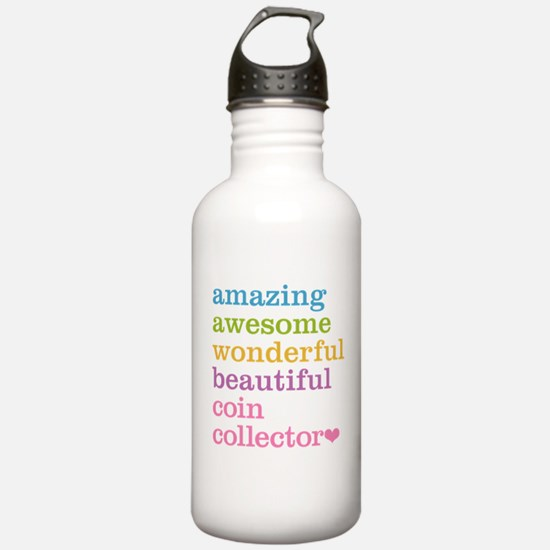 Coin Collector Water Bottle