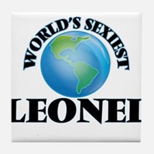 World's Sexiest Leonel Tile Coaster