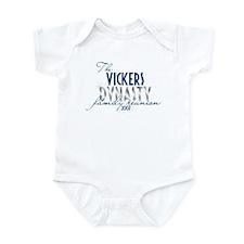 VICKERS dynasty Infant Bodysuit