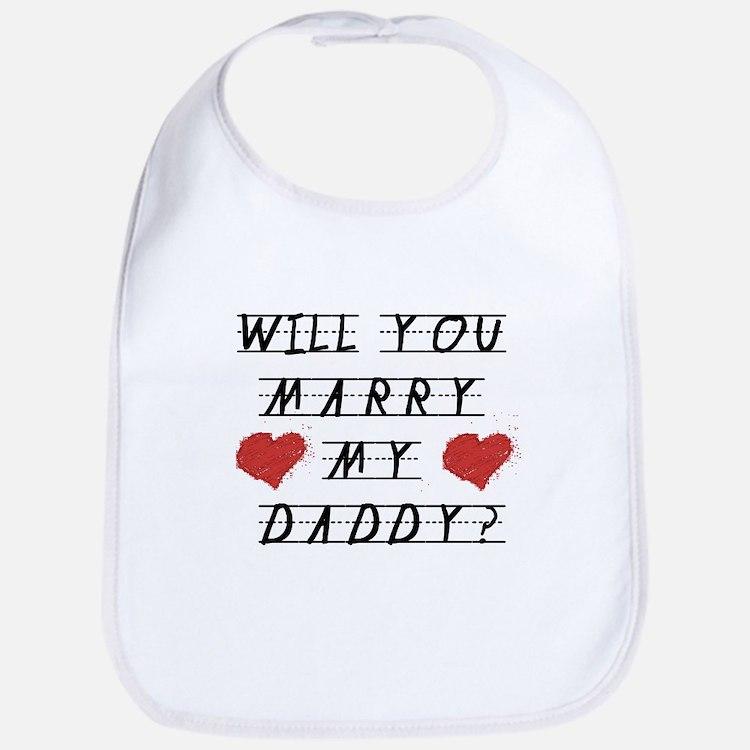 Will you marry? Bib