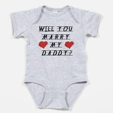 Will you marry? Baby Bodysuit