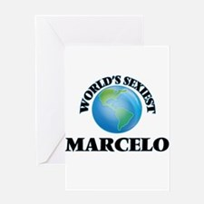 World's Sexiest Marcelo Greeting Cards