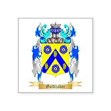 "Goldhaber Square Sticker 3"" x 3"""