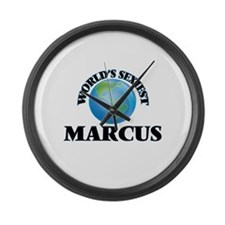 World's Sexiest Marcus Large Wall Clock