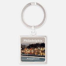 Philadelphia Square Keychain