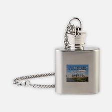 Philadelphia Flask Necklace